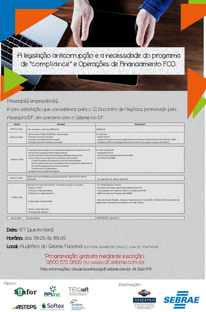 II encontro de negócios da Assespro/DF